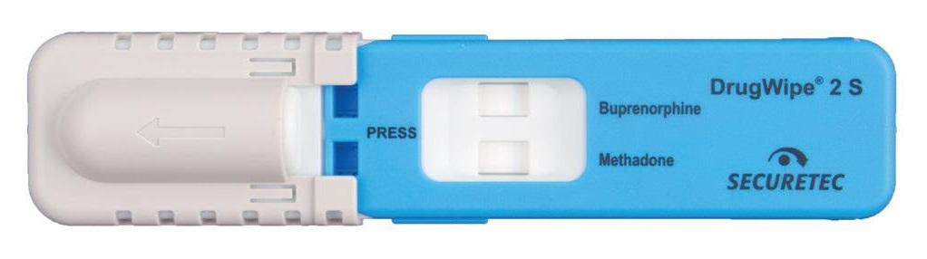бупренорфин, метадон, Securetec, DrugWipe, тест за наркотици