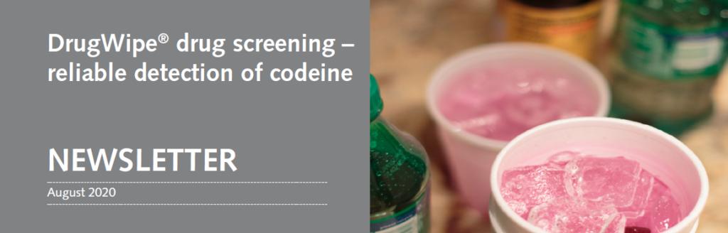 кодеин, DrugWipe, Securetec, тест за наркотици