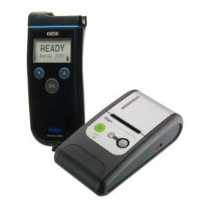 Комплект ALCOTEST®6820 с принтер, общ куфар и 250 мундщука