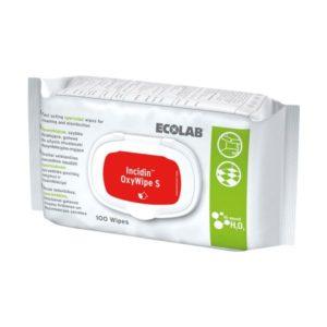 Incidin™ Oxywipe S, кърпички за дезинфекция на дрегери