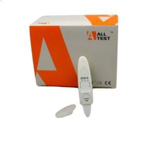 Панел за 6 наркотика с Метадон, с индикатор и с висока чувствителност към марихуана, слюнка   MultiDrug 6 Pen MTD + indicator, Oral, 12 ngr THC cut-off