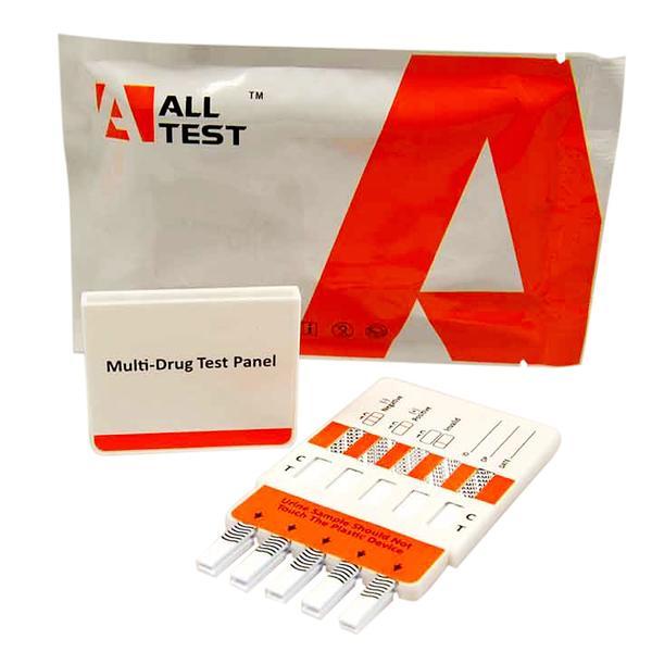 """Комбиниран уринен тест за 3 наркотика, Стимуланти """"Соли за вана"""" - MultiScreen3 Bath Salt"""