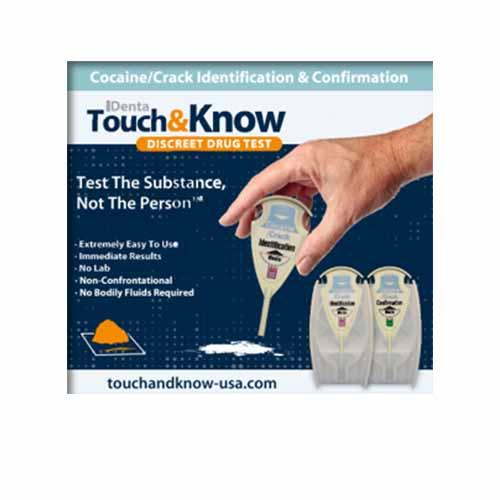 Touch&Know Комплект Полеви наркотестове за 26 наркотика
