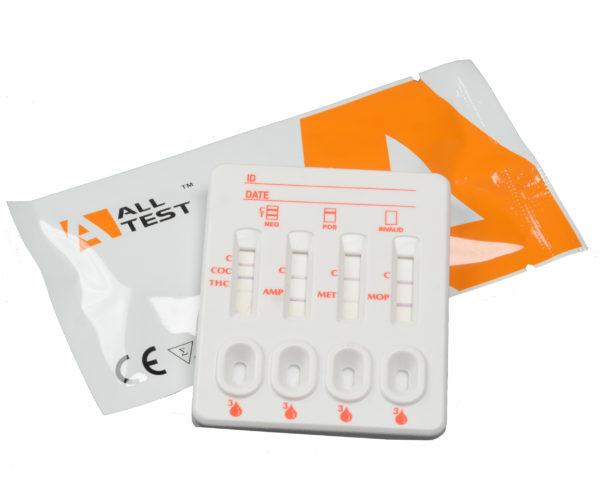 Комбиниран уринен тест за 10 наркотика с TCA