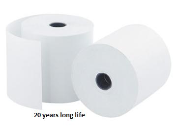 5бр. ролки термо-хартия за мобилен принтер DRÄGER с удължен живот